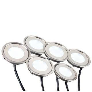 Набор KT-R-6x0.5W LED Warm White 12V (круг)  в Москве